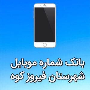 بانک شماره موبایل شهرستان فیروزکوه